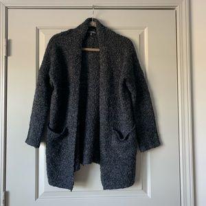 Matty M Grey Speckled Cardigan 2/$30